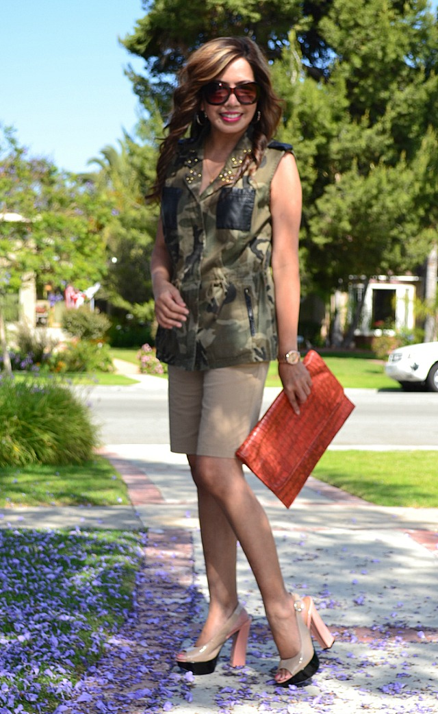 Camouflage Trend What I Wore Fabulous After 40