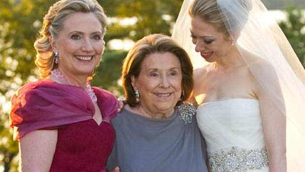 Hillary Clinton Mother Of The Bride Tweaked Her Chic