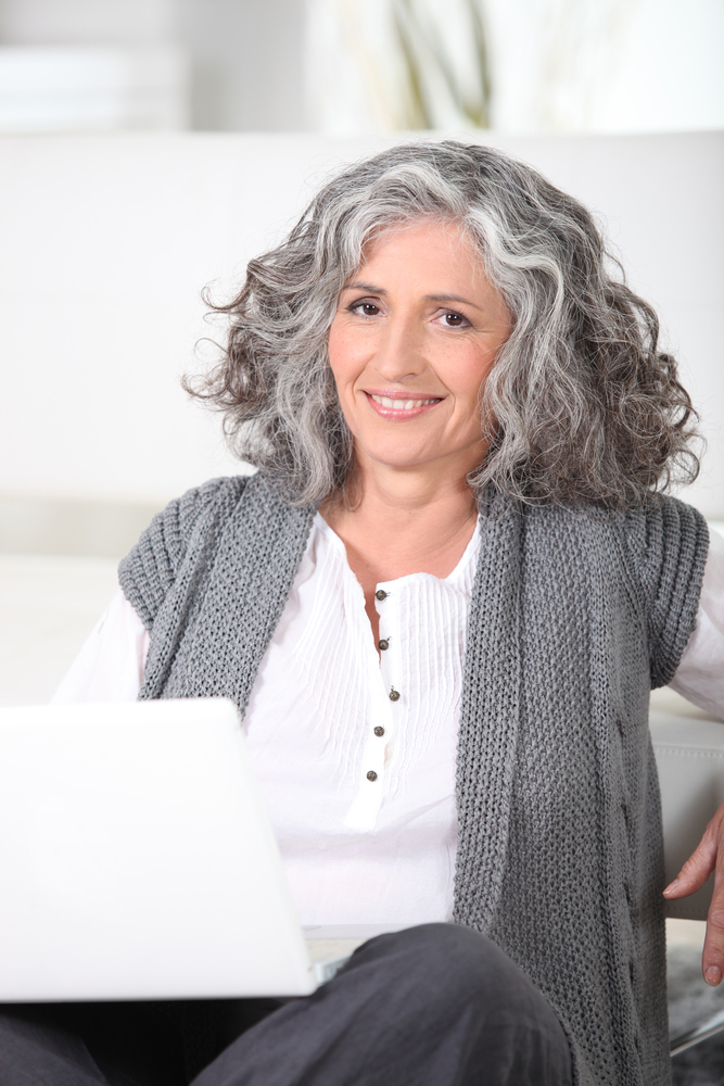 How To Grow Out Grey Hair Gracefully