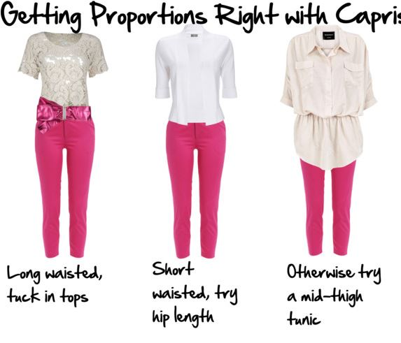 How To Wear Capri Pants And Cropped Trousers