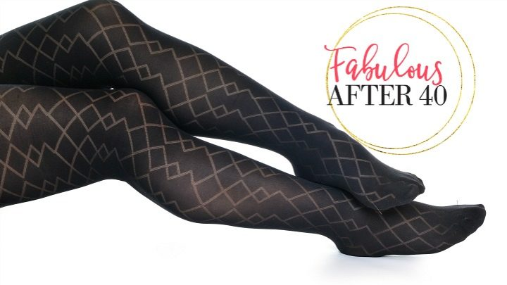 patterned hosiery