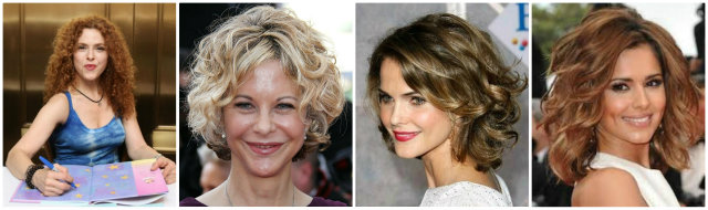 Cute hairstyles for curly hair women