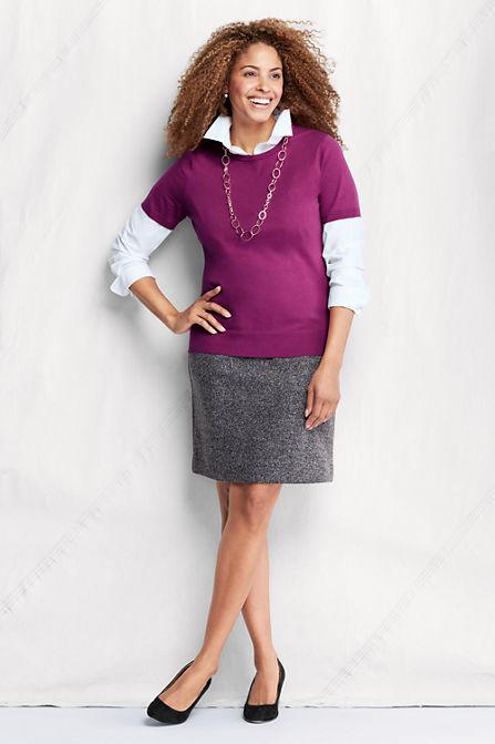 plus size pencil skirt