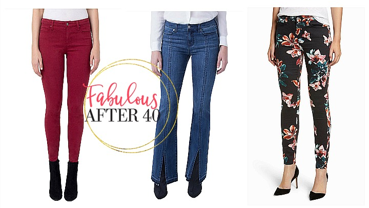 5 Fave Jeans & What To Wear Them With This Fall | Fabulous After 40 | Deborah Boland