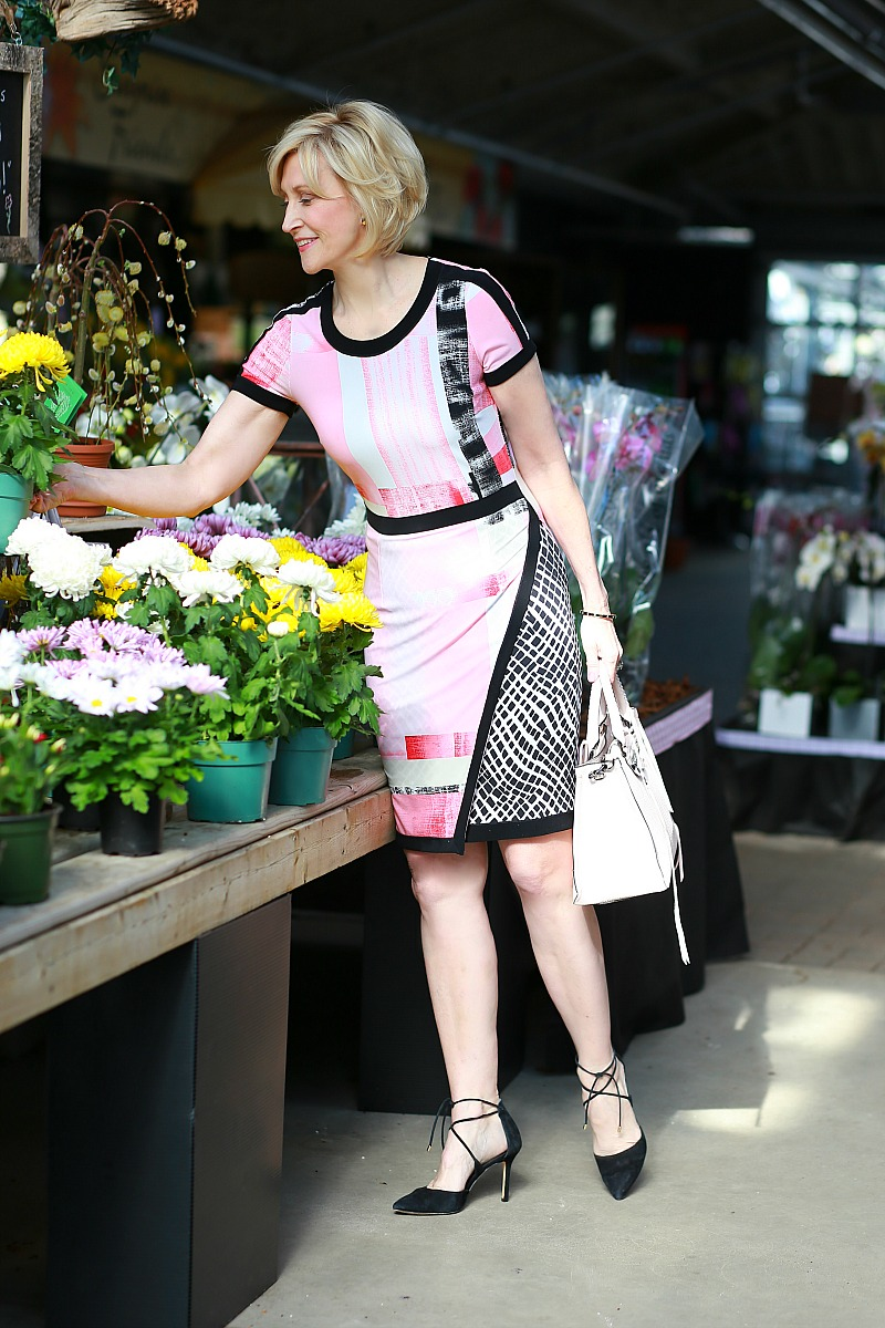pink Mothers Day dress
