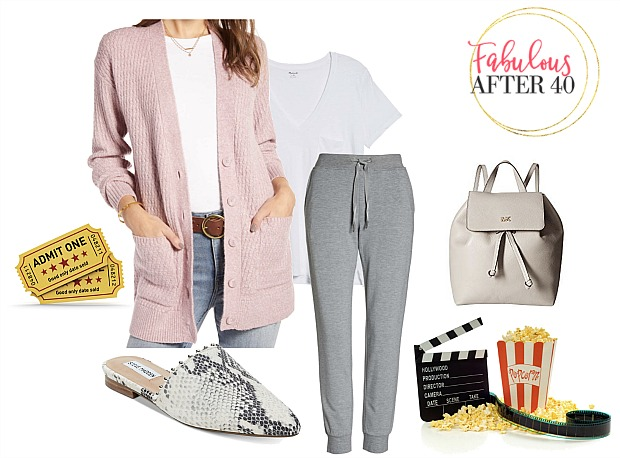 Movies - Cardigan with Joggers