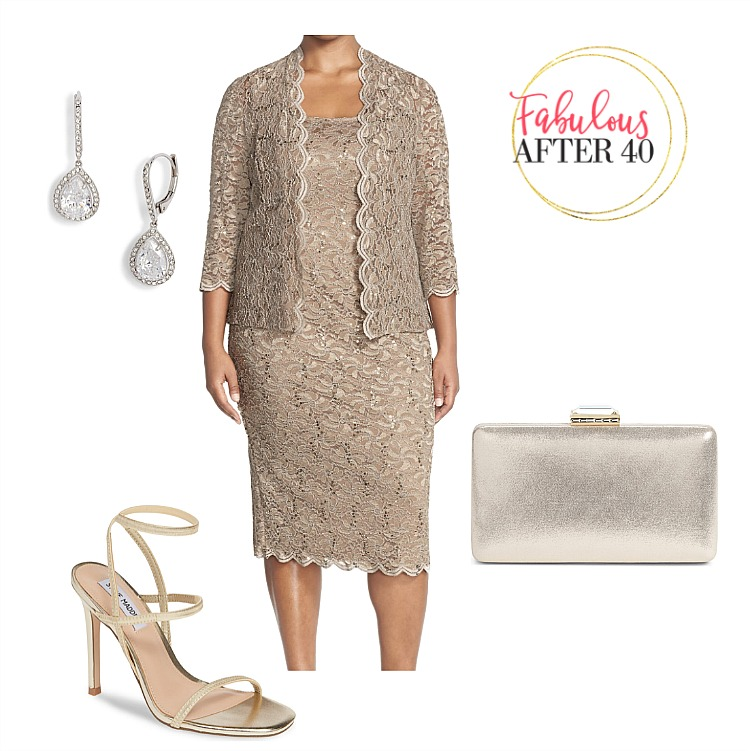 Spring and Summer Plus size Mother of the bride dress