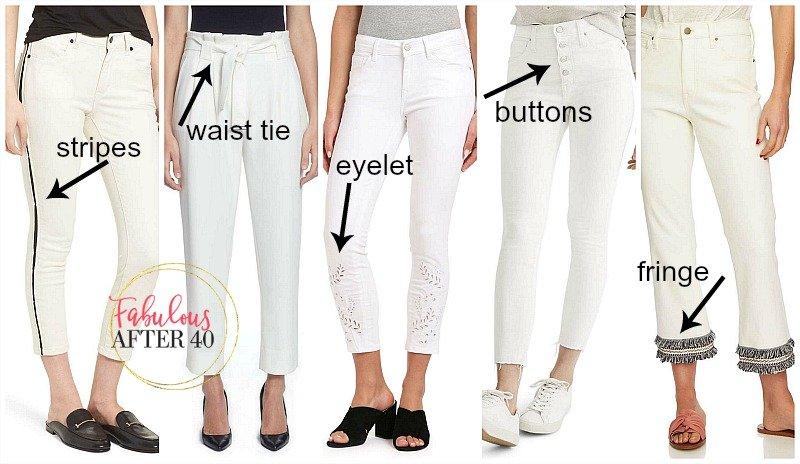 White Jeans 2018