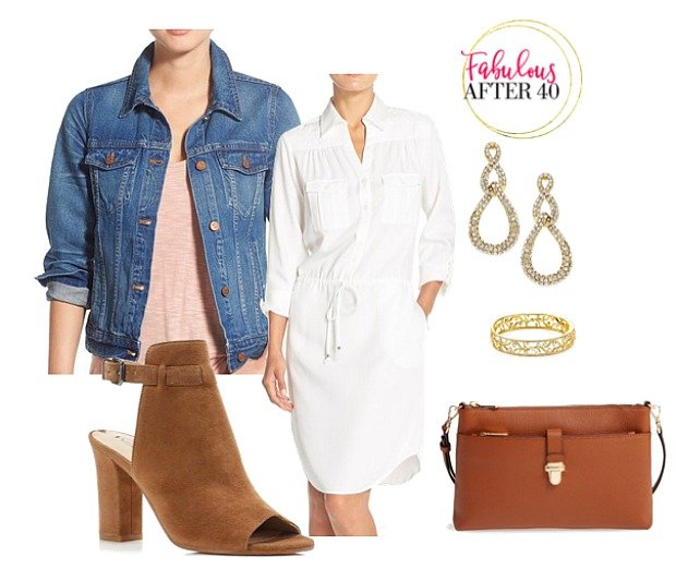 Casual outfit for woman over 40 - Denim-Jacket