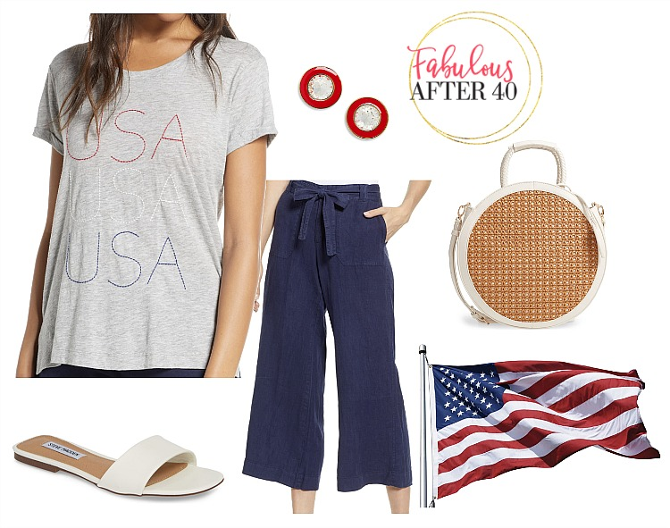 What to Wear on the Fourth of July - USA tshirt