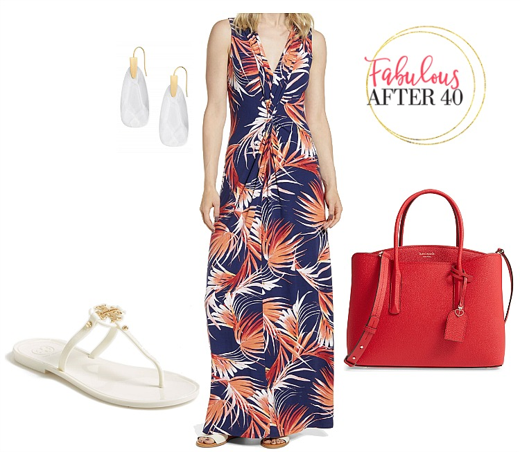 What to Wear Labor Day - Maxi dress
