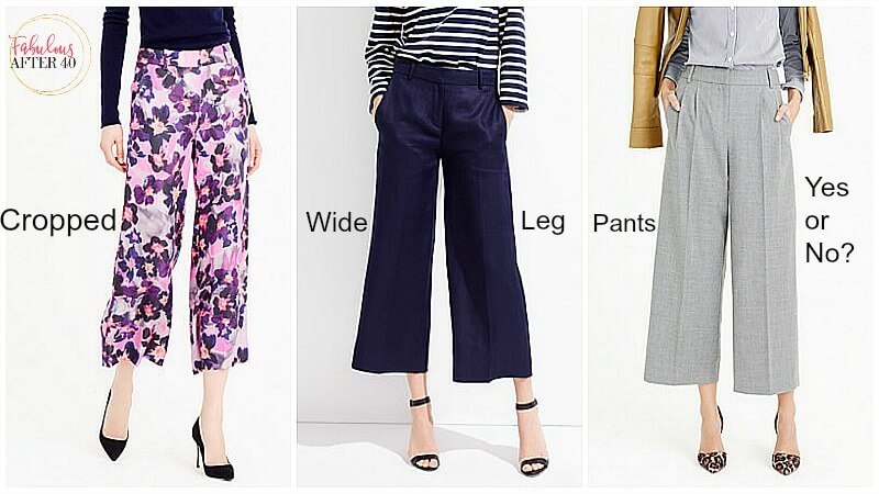Best Shoes to Wear With Cropped Wide