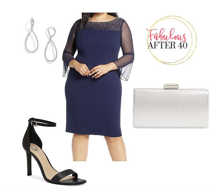 Classy Plus Size Wedding Guest Dresses for Fall –