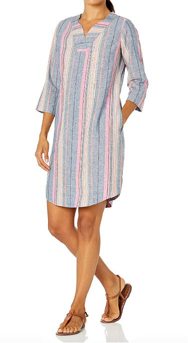Petite Casual Summer Dress For the Weekend